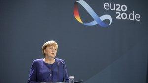 Merkel saluda l'arribada de Biden i la seva lluita conjunta contra la Covid i el canvi climàtic