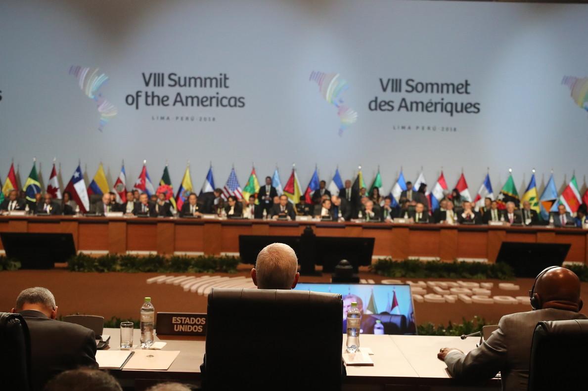 Els EUA alineen una gran part de la regió en la seva política contra Maduro