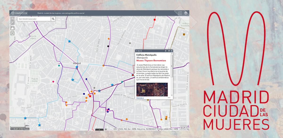 Aplicación móvil para recuperar la memoria de las mujeres más emblemáticas de Madrid