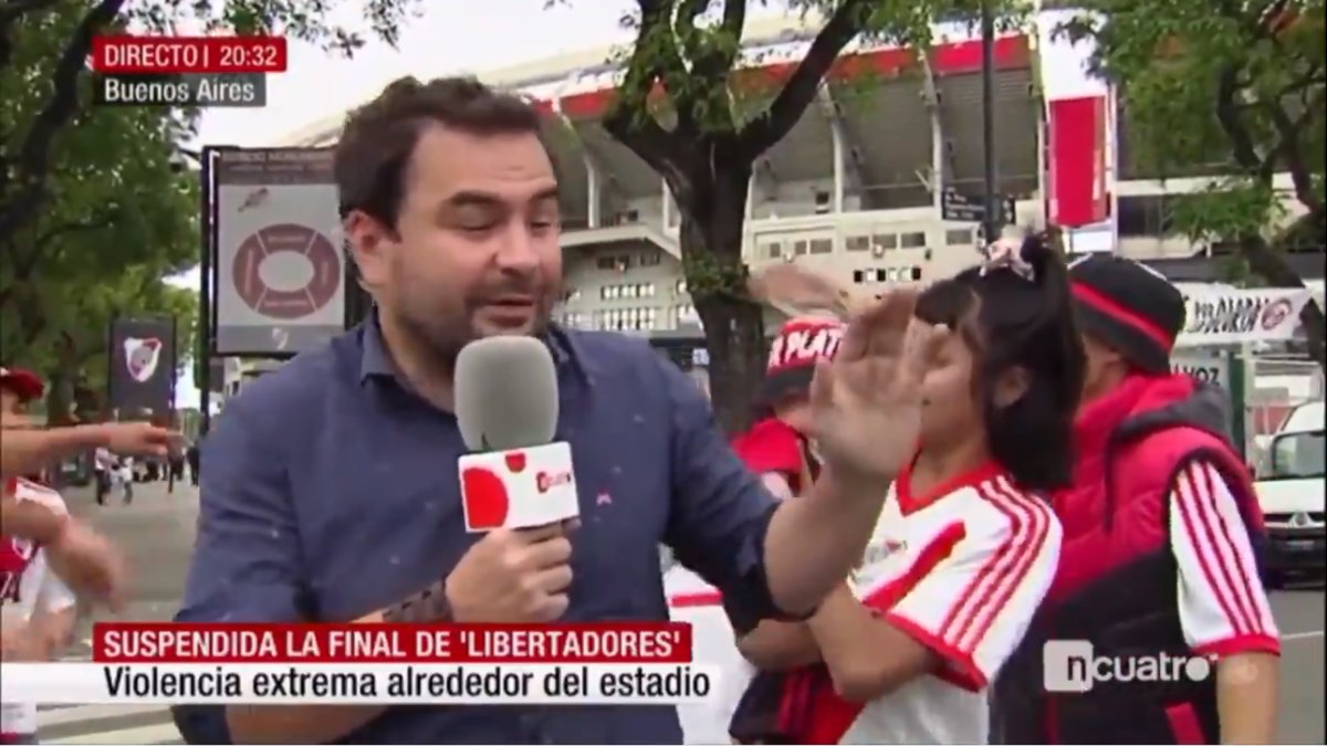 Surrealismo en \'Noticias Cuatro\': conectan con un reportero ...