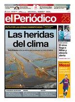 La portada de EL PERIÓDICO del 23 de febrero del 2020