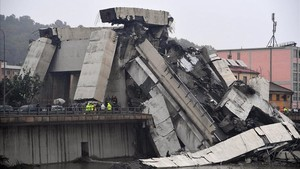 Desenes de morts per l'ensorrament d'un viaducte a Gènova | Directe