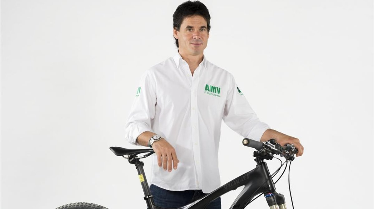 Àlex Crivillé, bicampeón del mundo de motociclismo, también es un experto sobre la bici.