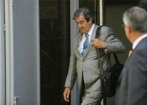 Álvarez-Cascos surt de declarar de l'Audiència Nacional el mes d'agost passat.