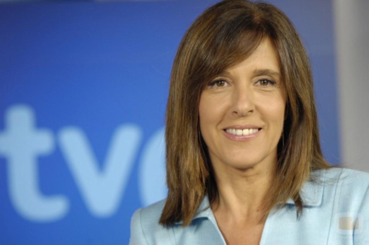 La presentadora del Telediario de TVE Ana Blanco.