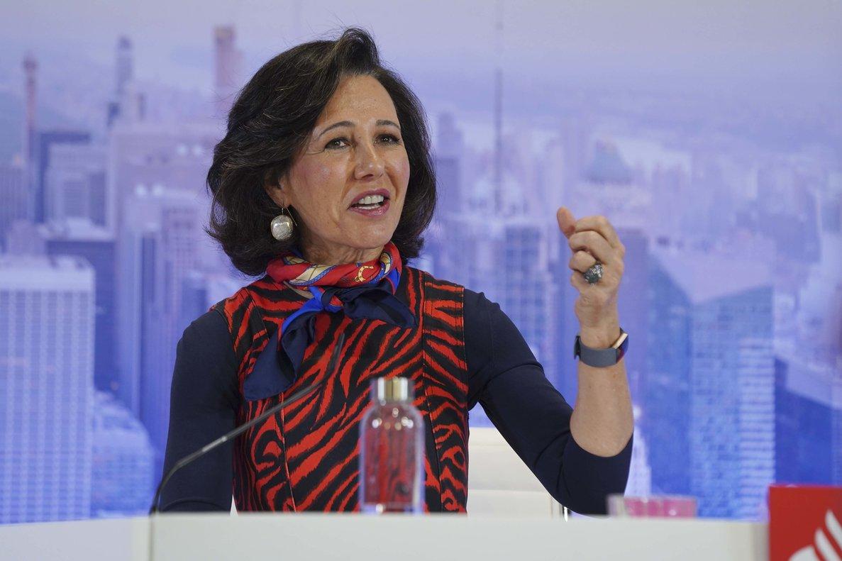 Ana Botín es la única presidenta ejecutiva del Ibex
