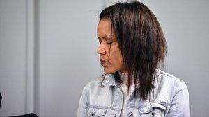 Ana Julia Quezada, en la sexta sesión del juicio por la muerte del pequeño Gabriel Cruz.