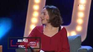 La humorista, guionista y periodista Ana Polo, en una imagen de Youtube deNo te metas en política.