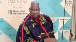 André Leon Talley, invitado de excepción de la 22ª edición del 080 Barcelona Fashion.