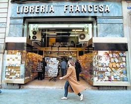 La antigua sede de la Librería Francesa en el paseo de Gràcia, en una fotografía tomada en el 2002.