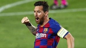 El argentino Leo Messi medita dejar el Barça.