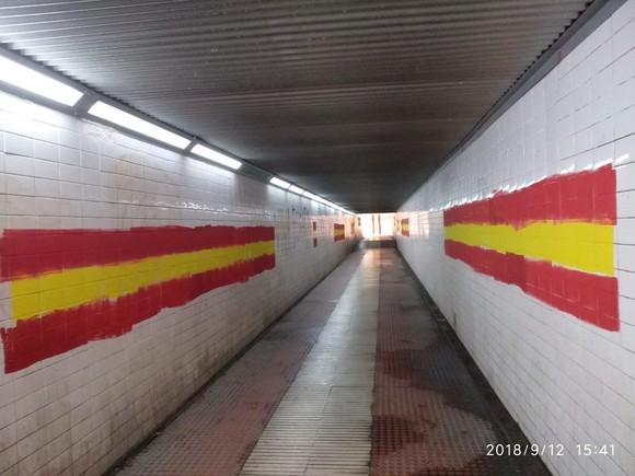 Els partits sobiranistes de Mataró demanen la neteja de banderes espanyoles