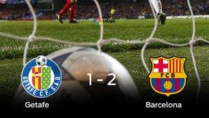 El Barcelona gana en el Coliseum Alfonso Pérez al Getafe
