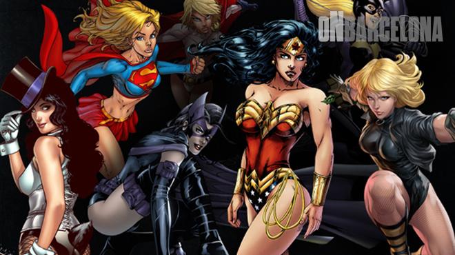 On Barcelona: Heroïnes del Còmic.
