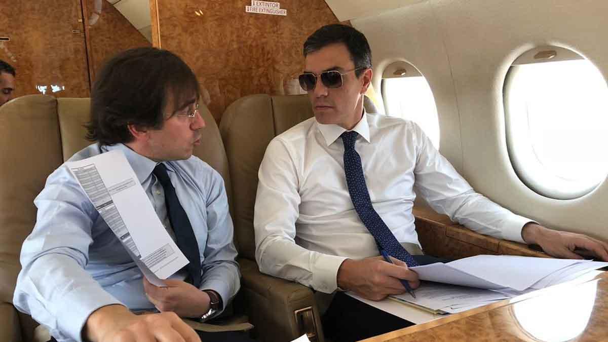 Calvo asegura que Sánchez fue al FIB por una apretada agenda institucional