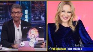 'El Hormiguero': Kylie Minogue desmiente a Pablo Motos una antigua leyenda urbana sobre ella