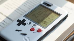 La carcasa de Wanle transforma el móvil en una GameBoy