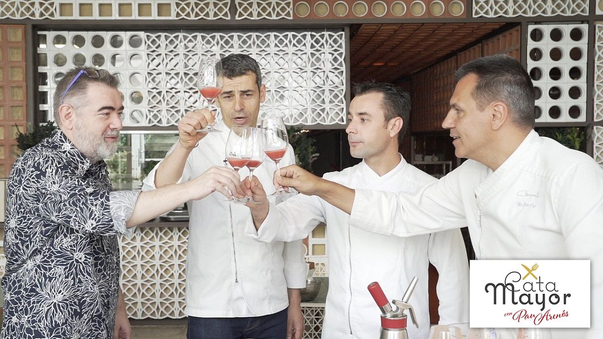Cata Mayor: cómo preparan el gazpacho en Disfrutar, uno de los mejores restaurantes del mundo.