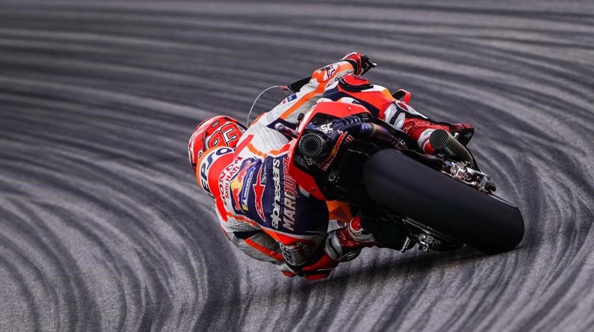 El catalán Marc Márquez (Honda), actual tetracampeón del mundo de MotoGP.