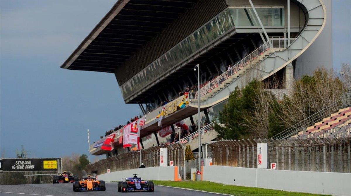 El Circuit de Catalunya ha visto, de momento, aplazado el GP de España de F-1.