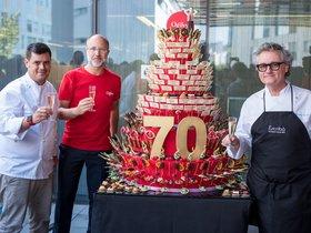 Ogilvy celebra el seu 70è aniversari amb un pastís XL d'Escribà