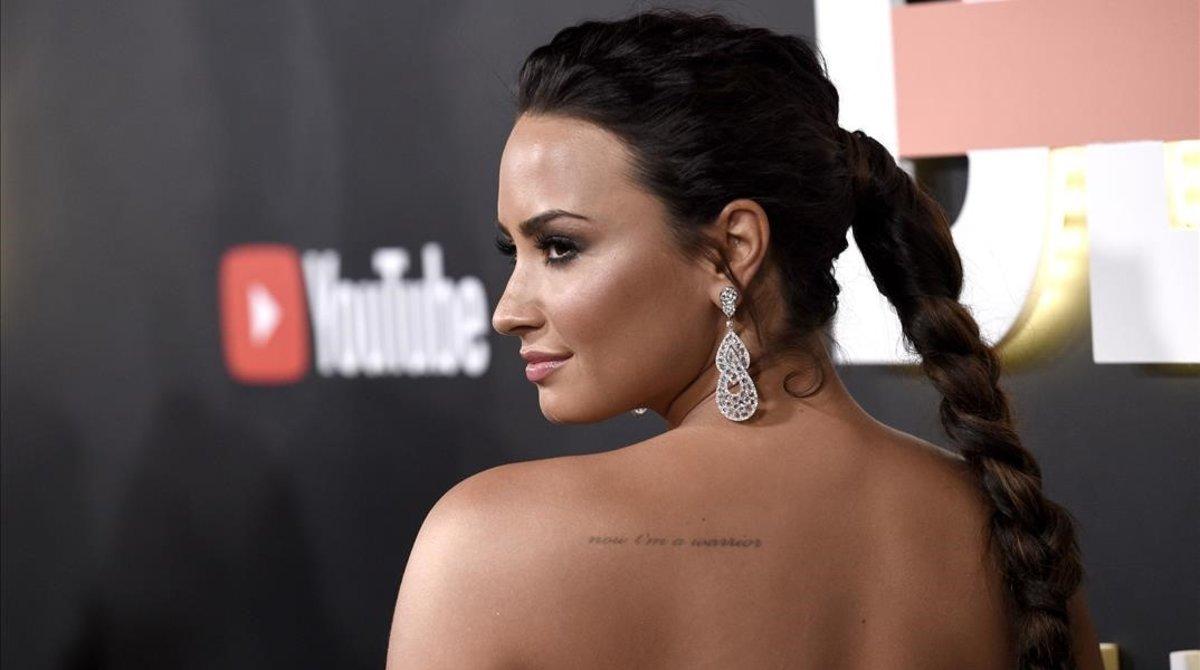 Demi Lovato, en la premiere de su documental 'Demi Lovato. Simply Complicated', en 2017.