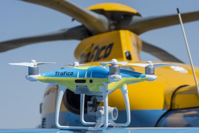 Un dron de Tráfico.