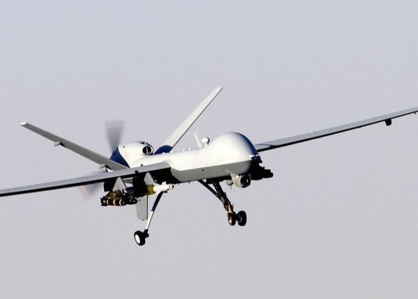 Un drone estadounidense de uso militar, en una imagen de archivo.