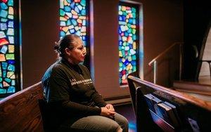 Edith Espinal, una inmigrante indocumentada en los EEUU.