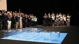 El escenario del Teatre Nacional de Catalunya.