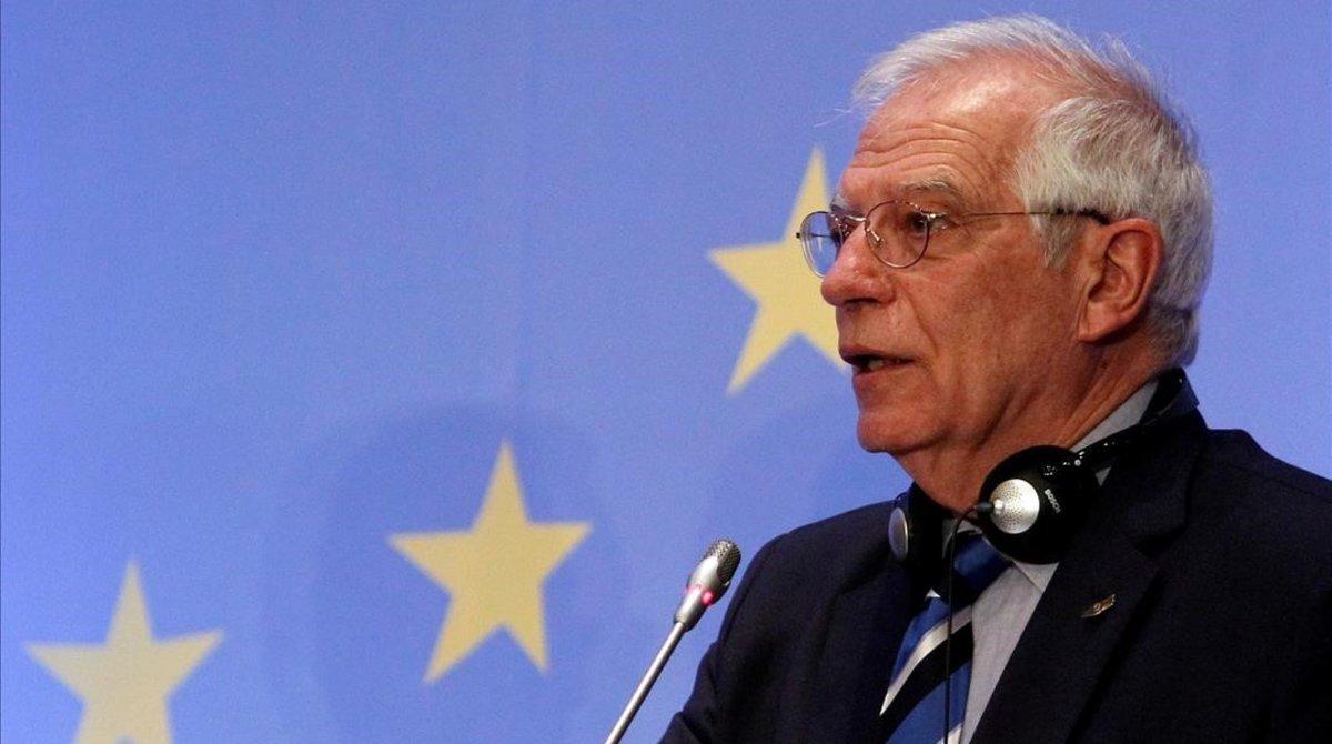 El español Josep Borrell, aspirante a jefe de la diplomacia europea.