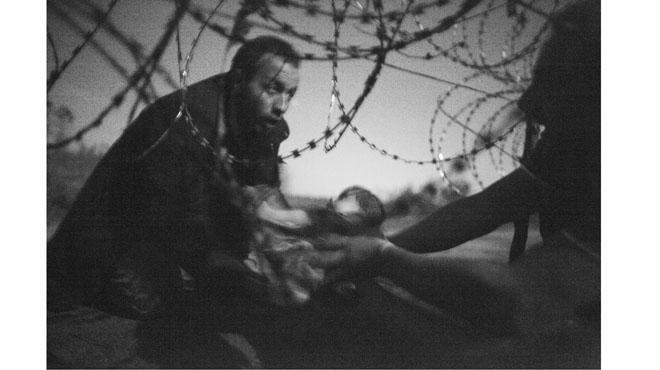 'Esperança d'una nova vida', la millor fotografia periodística de l'any.