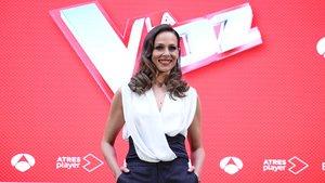 Eva González, presentadora de La voz.