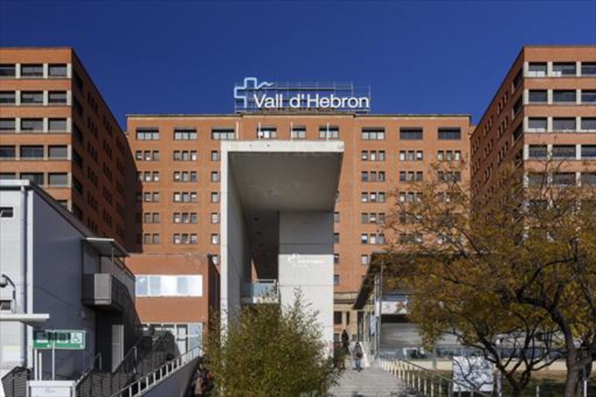 Fachada del Hospital Vall dHebron de Barcelona.