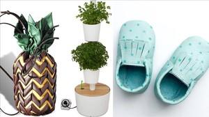 El bolso de Tika, el jardín vertical de Citysens y los zapatos de bebé de Mamis&minis