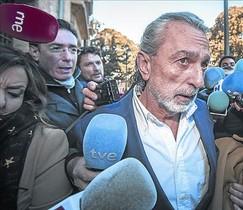 Francisco Correa, acusado en el caso Gürtel, en febrero, en Valencia.