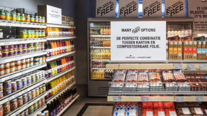 Un supermercat holandès, pioner a tenir un passadís lliure de plàstics