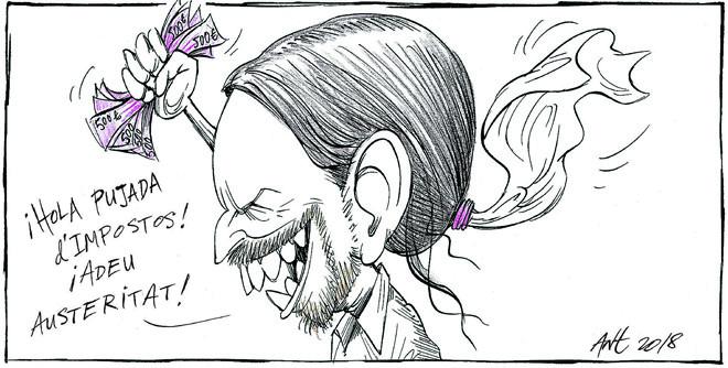 L'humor gràfic d'Anthony Garner del 16 d'Agost del 2018