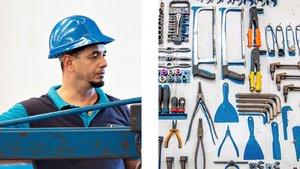 Gracias al programa Incorpora de Fundación la Caixa, Javier encontró trabajo en la fábrica de aluminio Cortizo