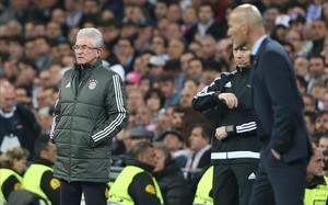 Heynckes y Zidane, durante el partido.
