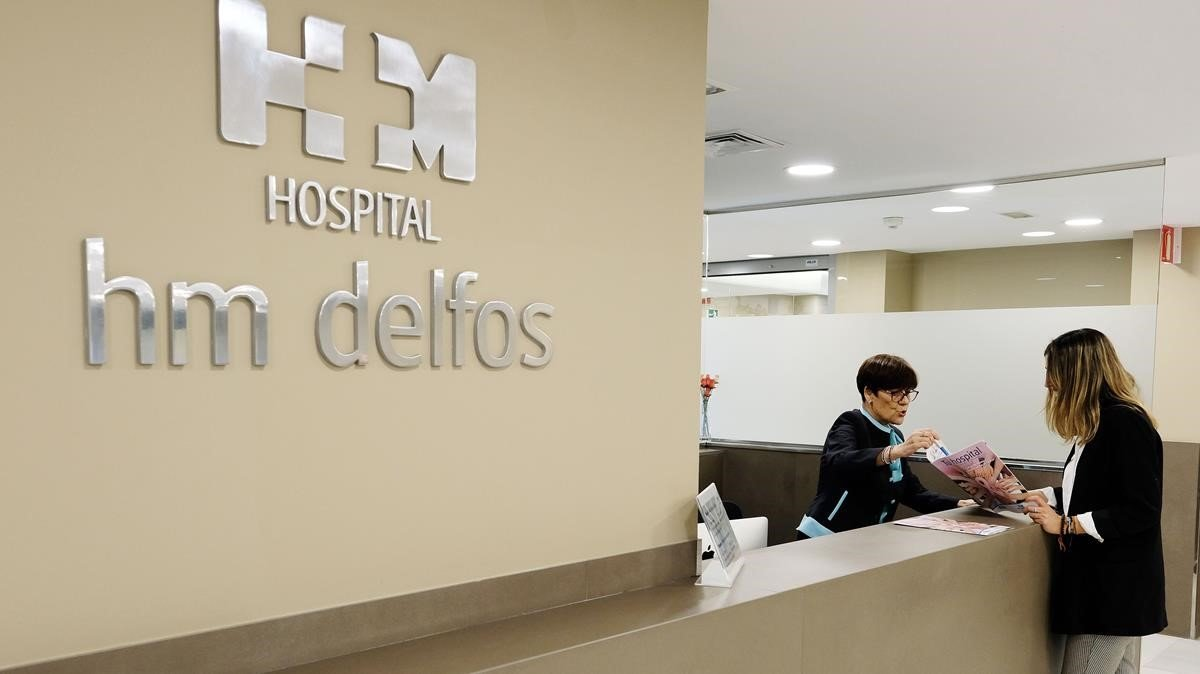El Hospital HM Delfos de Barcelona.
