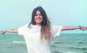 Imagen reciente de Marta Calvo, que tenía 25 años, facilitada por su familia.