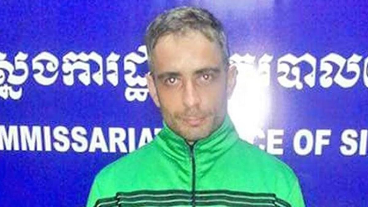 Artur Segarra, tras ser detenido por la policía tailandesa.