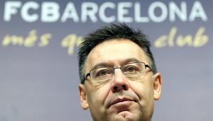 Josep Maria Bartomeu, en un acto oficial del Barça.