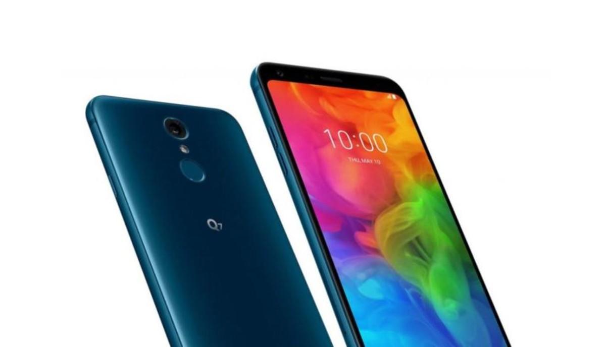 Nuevo Q7, elsmartphonede LG en la gama media.