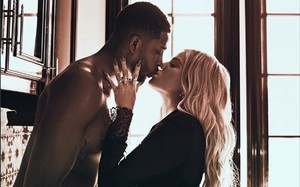 Khloe Kardashian y Tristan Thompson.
