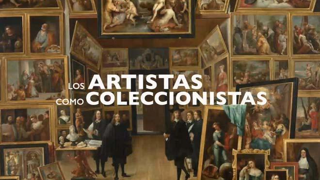 Los artistas como coleccionistas.