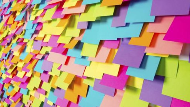 Llevas toda la vida usando mal los 'post-it'