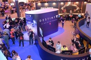 Edición de Madrid Games Week en el 2015.