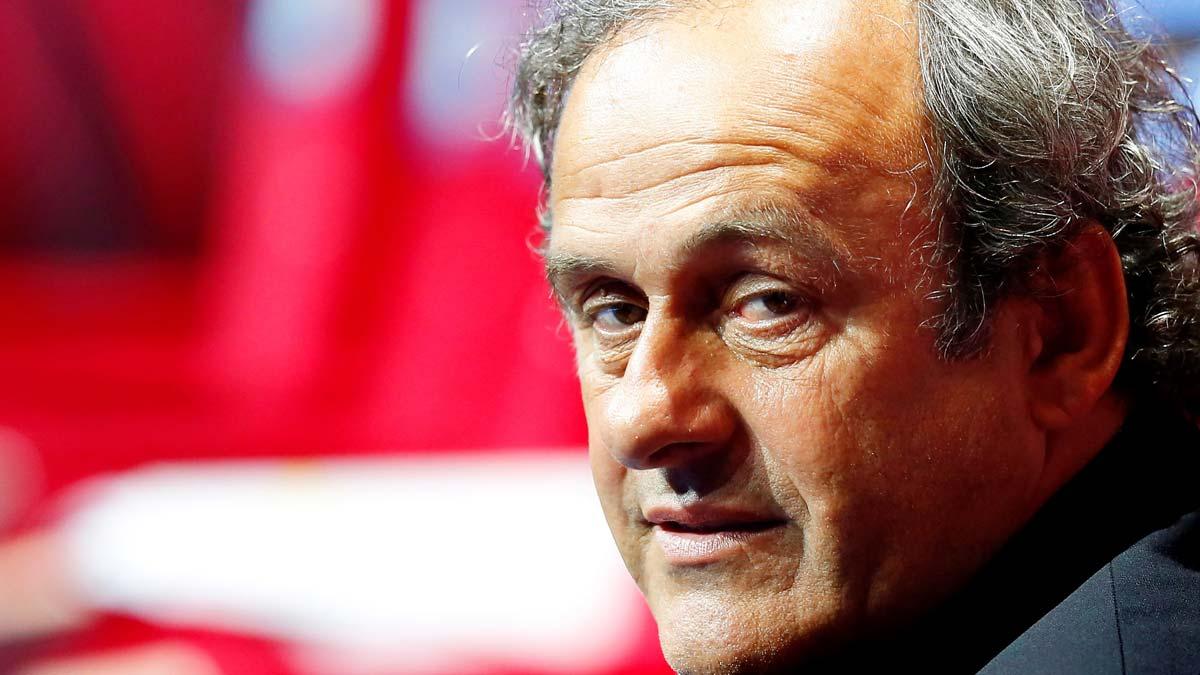 Michel Platini, detenido por supuesta corrupción en el Mundial 2022.